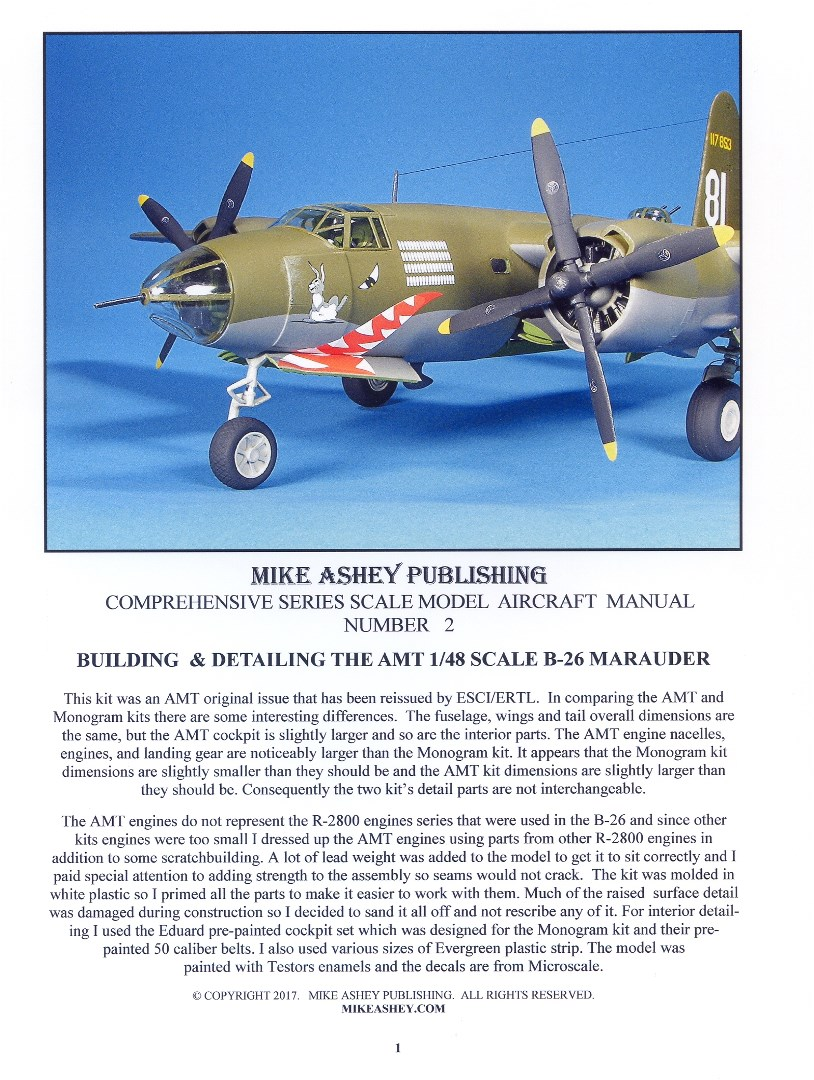 B-26 MANUAL ORDERING PAGE